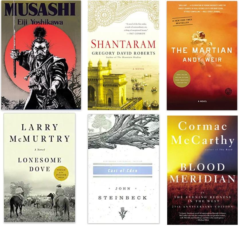 Best Fiction Books for Men